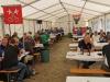 Die Organisation des Anlasses war top. Entsprechend den geltenden Covid-Massnahmen wurde den Gruppen ein Tisch für das Mittagessen zugeteilt. Für Feld A und D standen separate Zelte zur Verfügung.